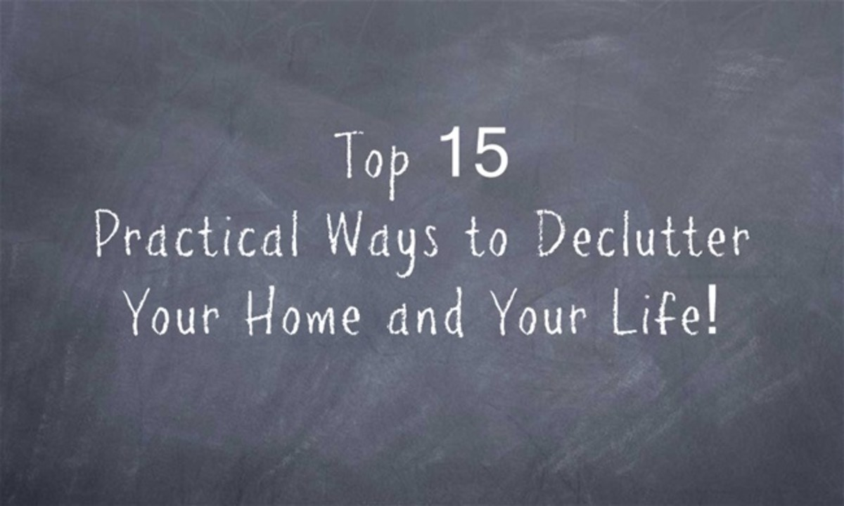 Top 15 Practical Ways to Declutter Your Home and Life!