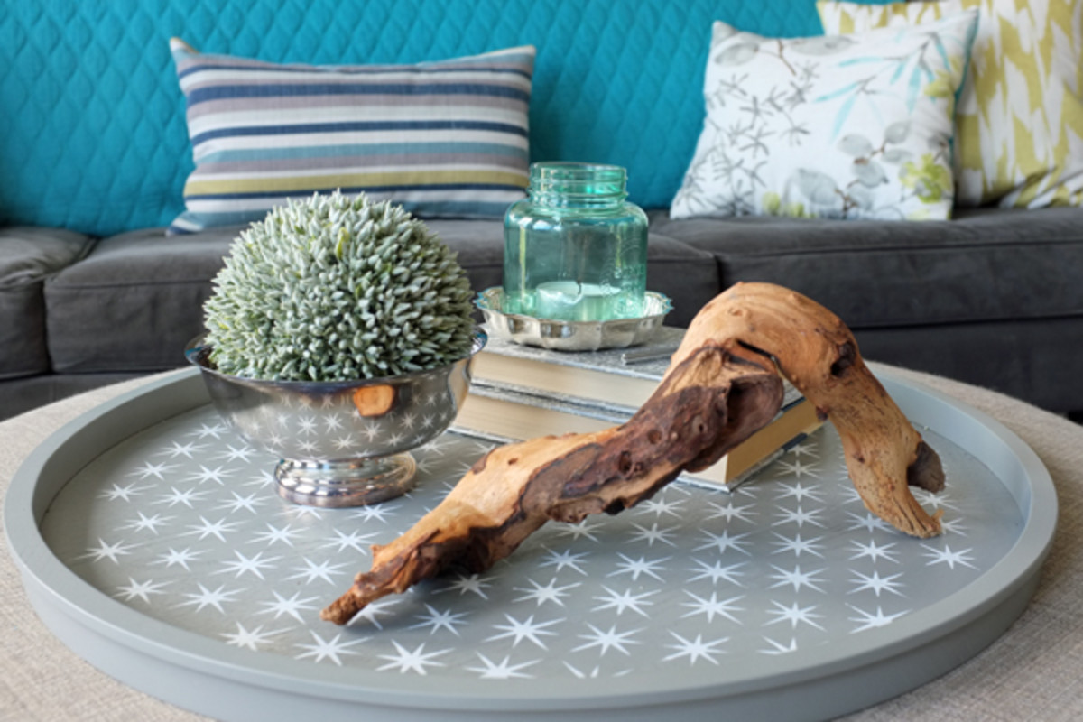 Ideas For Styling Your Ottoman Tray Dengarden Home And Garden