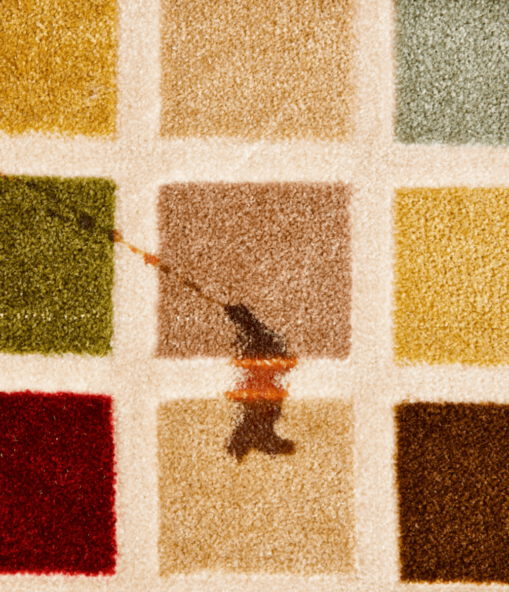 Pets and carpets do not often go well together.