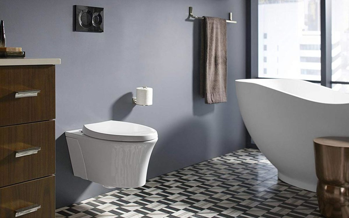 Installing a wall-mounted toilet can seem difficult at first, but it's definitely doable if you just follow these simple directions.