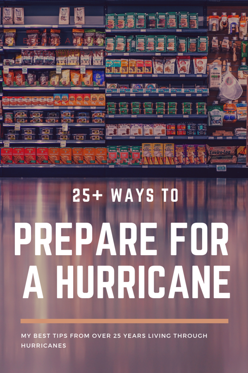 25+ Ways to Prepare for a Hurricane