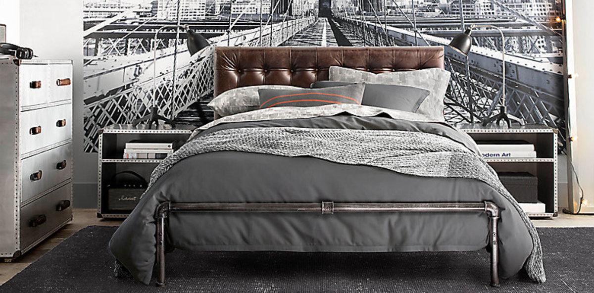 Duvet covers are great because they protect the comforter and are easily removed to wash.