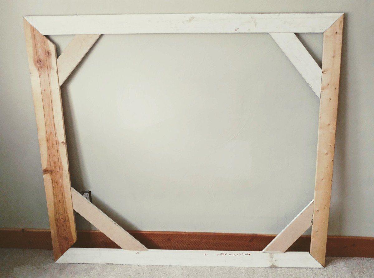 Here's a look at the finished frame.