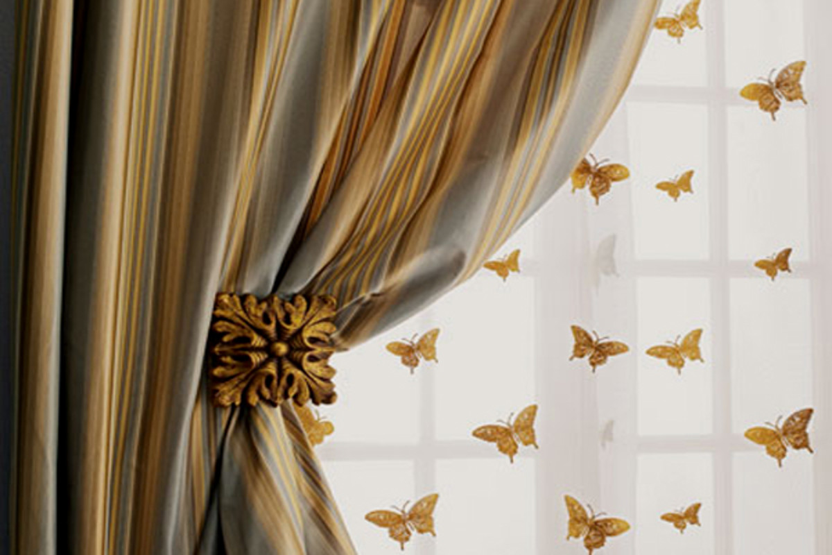Different Types of Silk Curtains