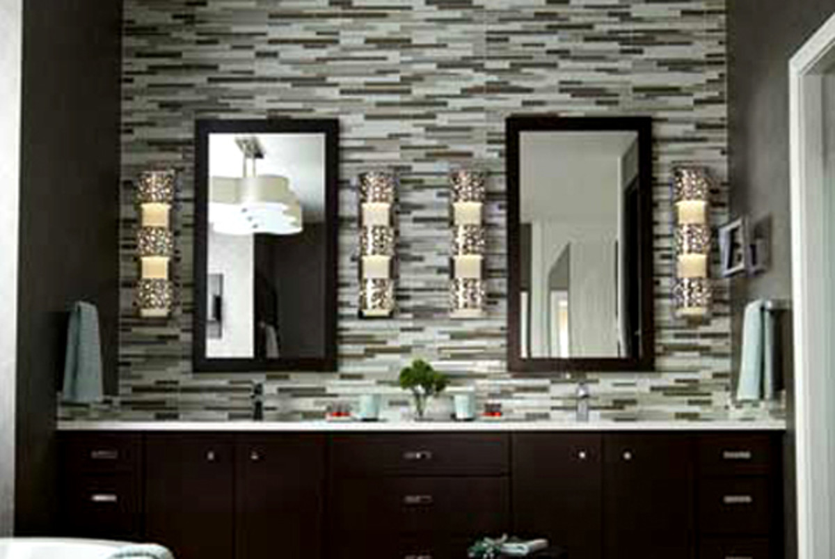 Installing dimmers give your bathroom a relaxing spa-like feel.