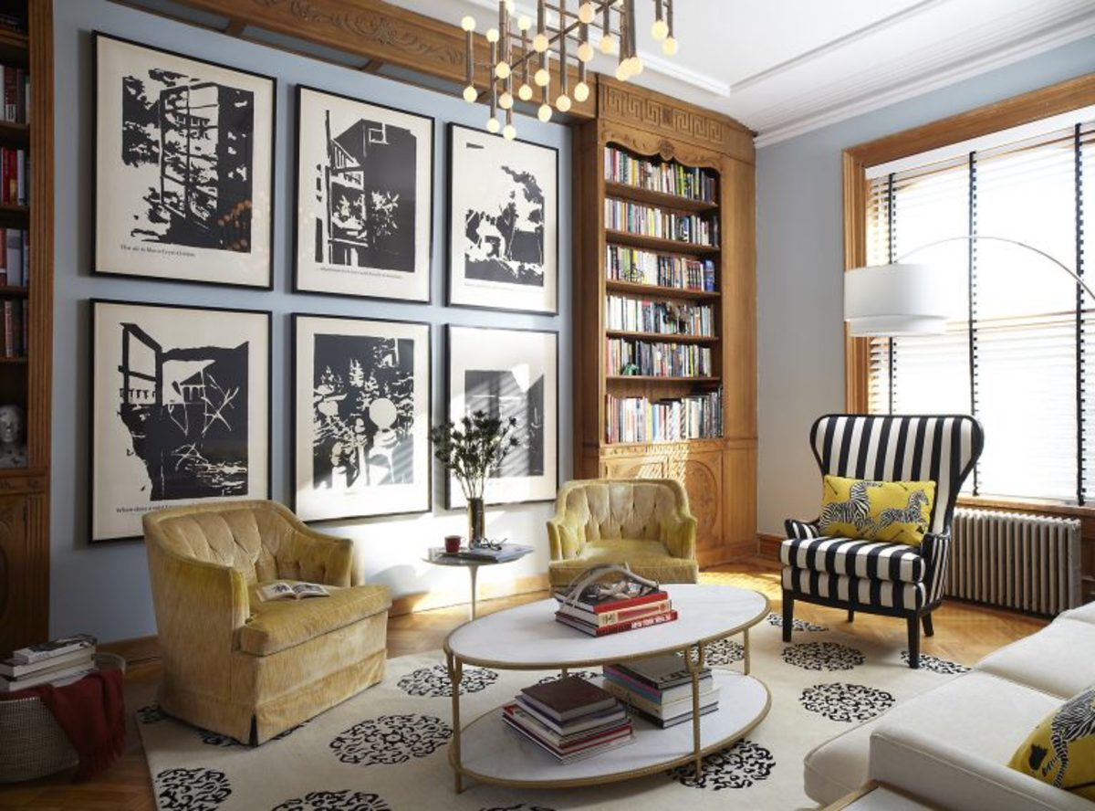 Eclectic style tosses the design rules out the window.