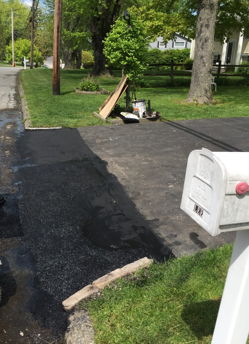 This article will show you how I repaired my cracked driveway and how you can too.
