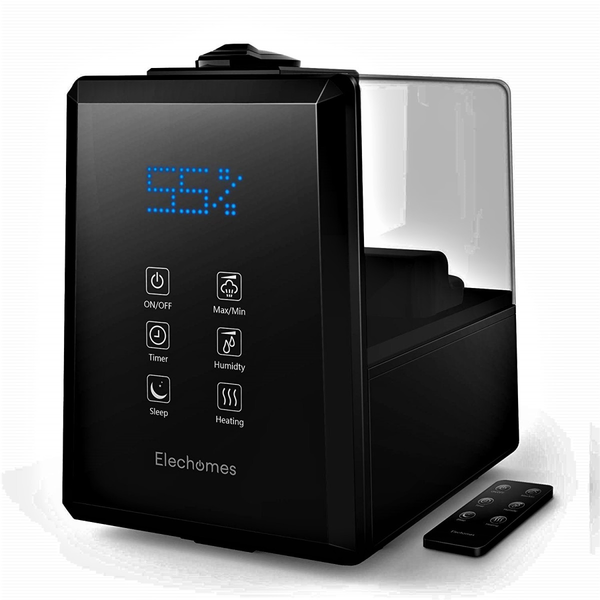 Elechomes Ultrasonic Cool/Warm Mist Humidifier