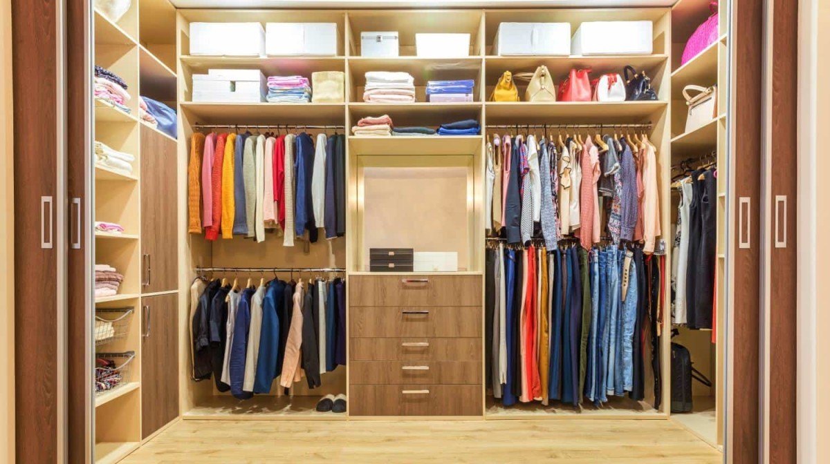 Eliminate the clutter by organizing rooms, closets, bathrooms and kitchen.