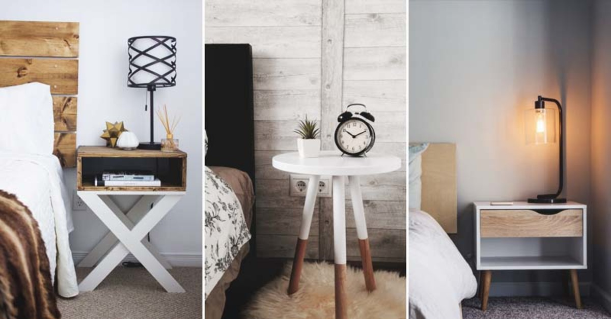 Nightstands that are practical also add a stylish vibe.