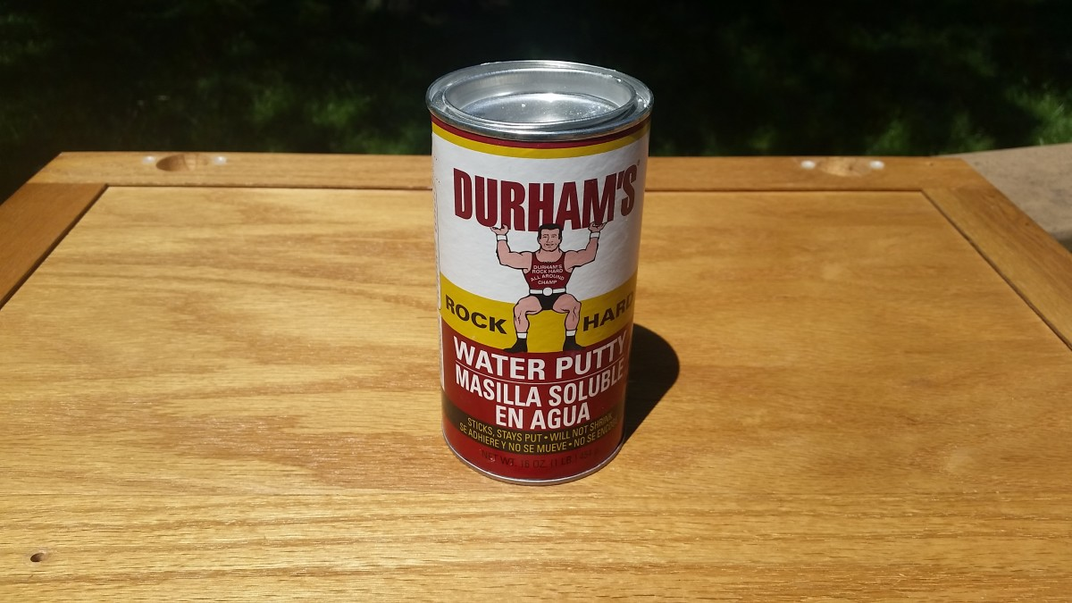 My Review of Durham's Water Putty for Cabinet Painting