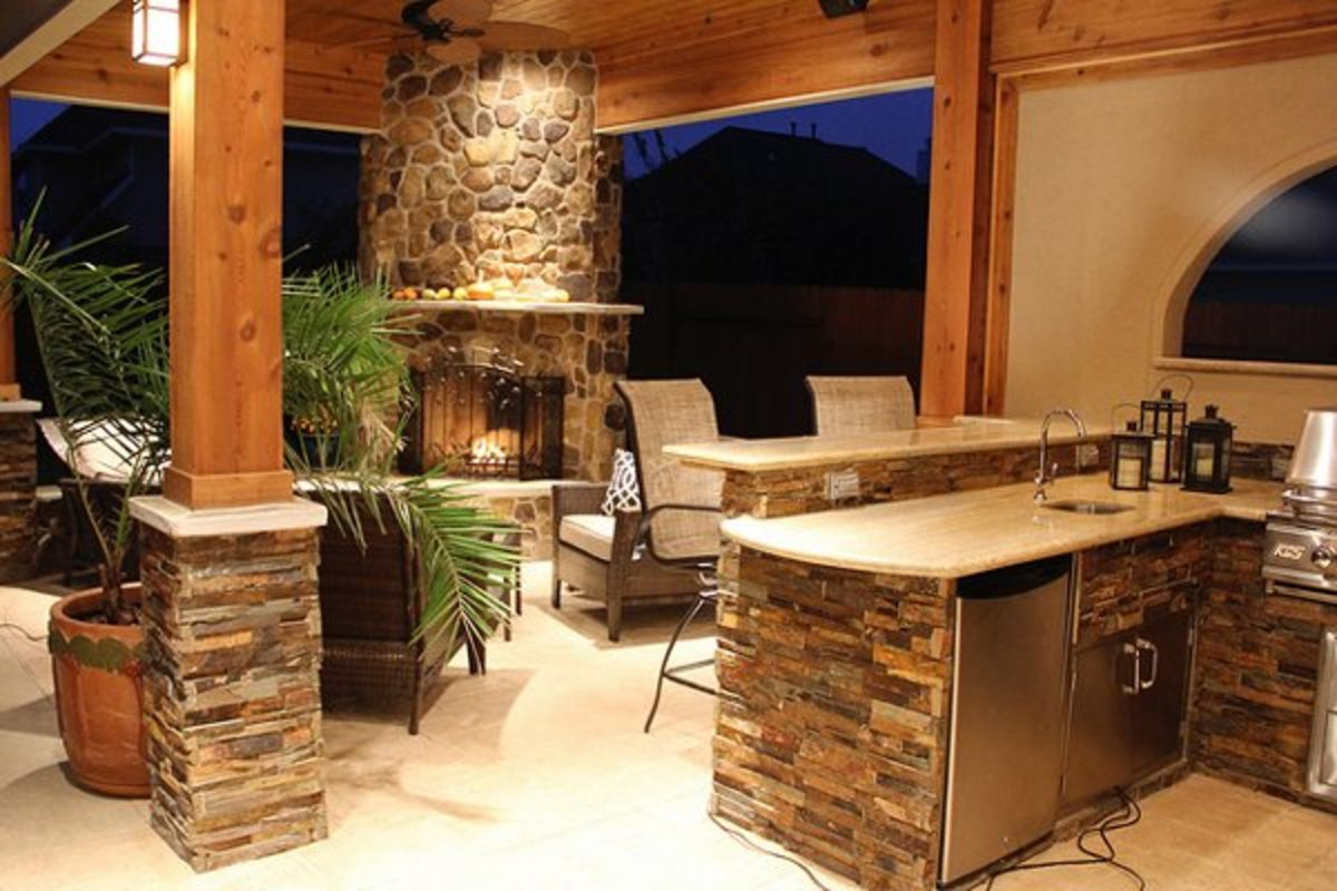 Outdoor kitchens help to extend your living and entertaining space.