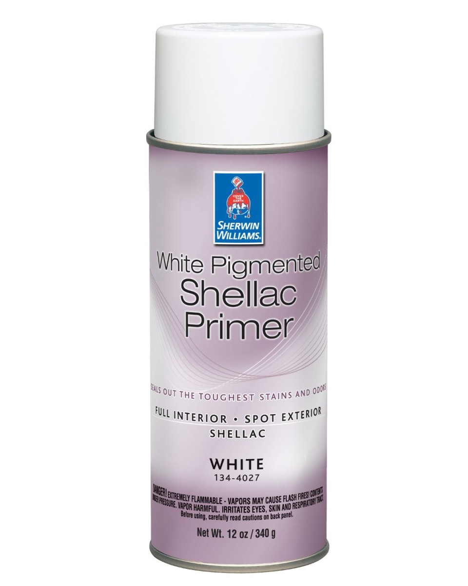 My Review of Sherwin Williams White Pigmented Shellac Primer
