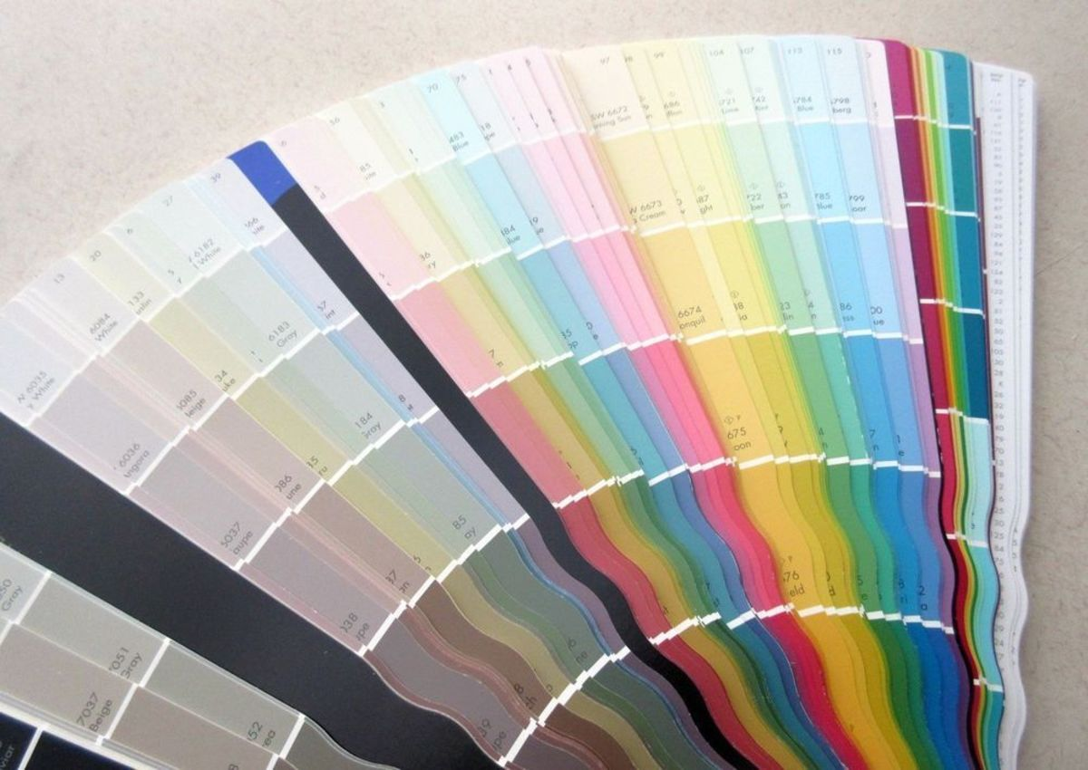 The new Sherwin Williams fan deck of over two thousand colors.