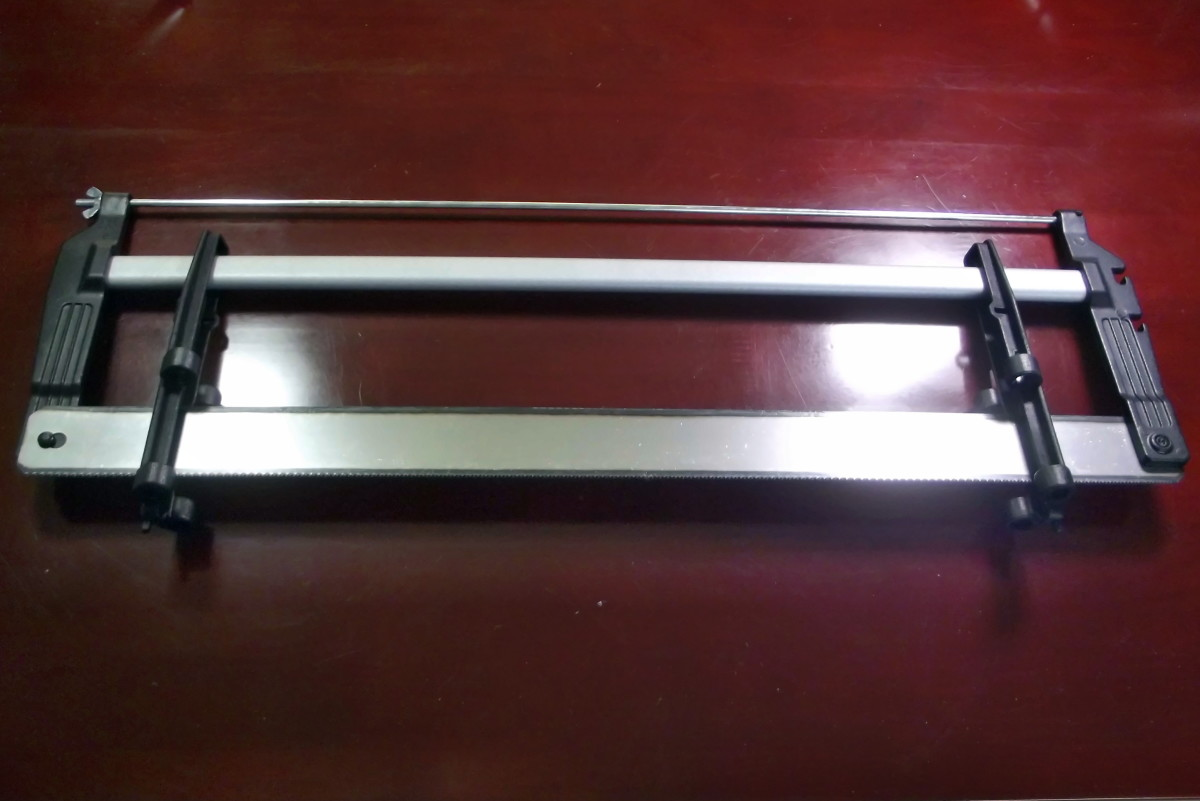 Saw used with Stanley 20-800 Contractor Grade Clamping Miter Box.