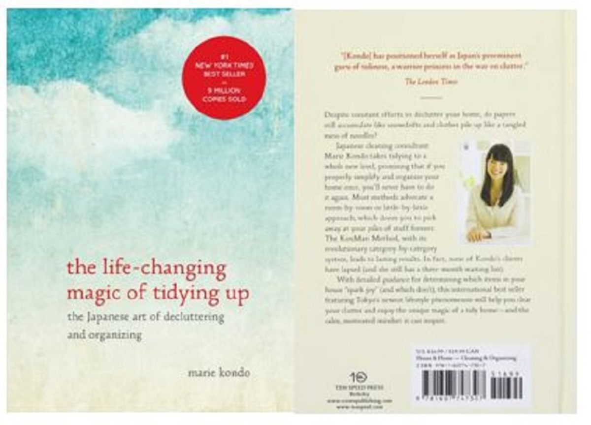"Marie Kondo's bestseller ""The Life-Changing Magic of Tidying Up: The Japanese Art of Decluttering and Organizing"" has sold more than 9 million copies world-wide."