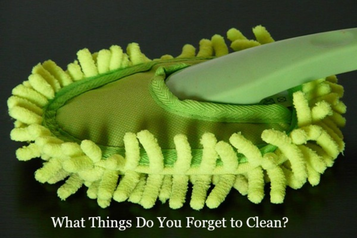 13 Things Around Your House You Most Likely Forget to Clean