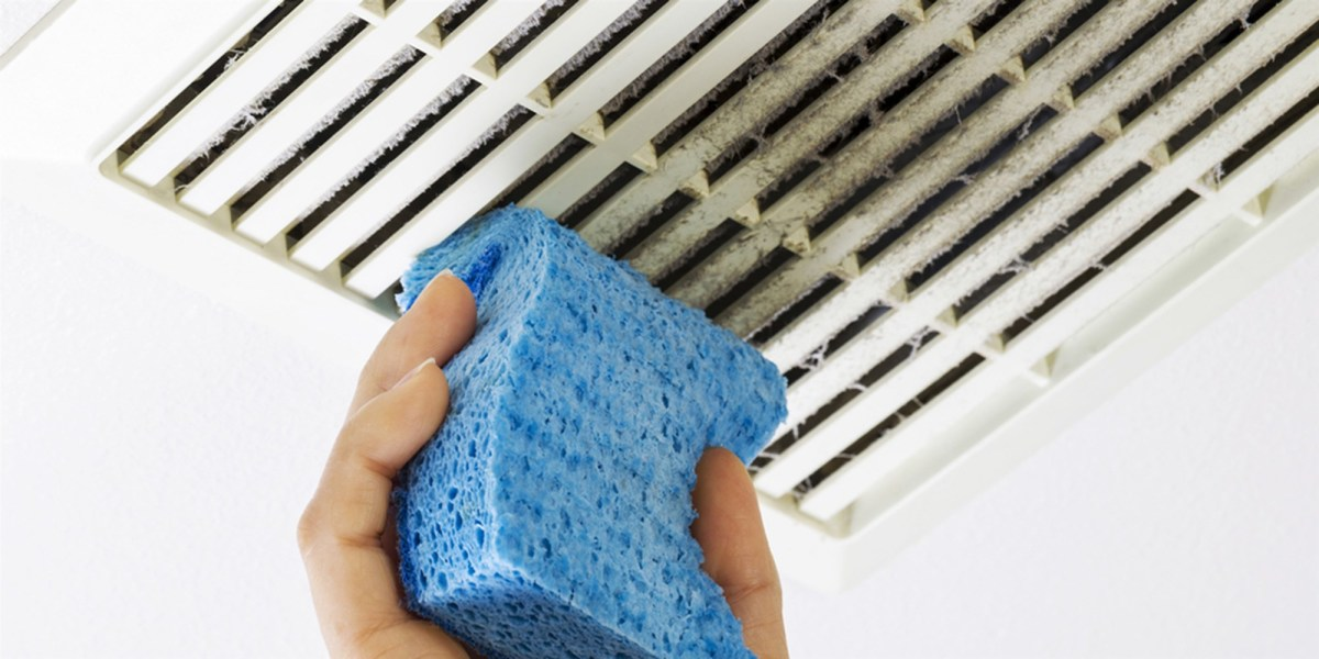 Wipe all the vent covers to keep allergies down.