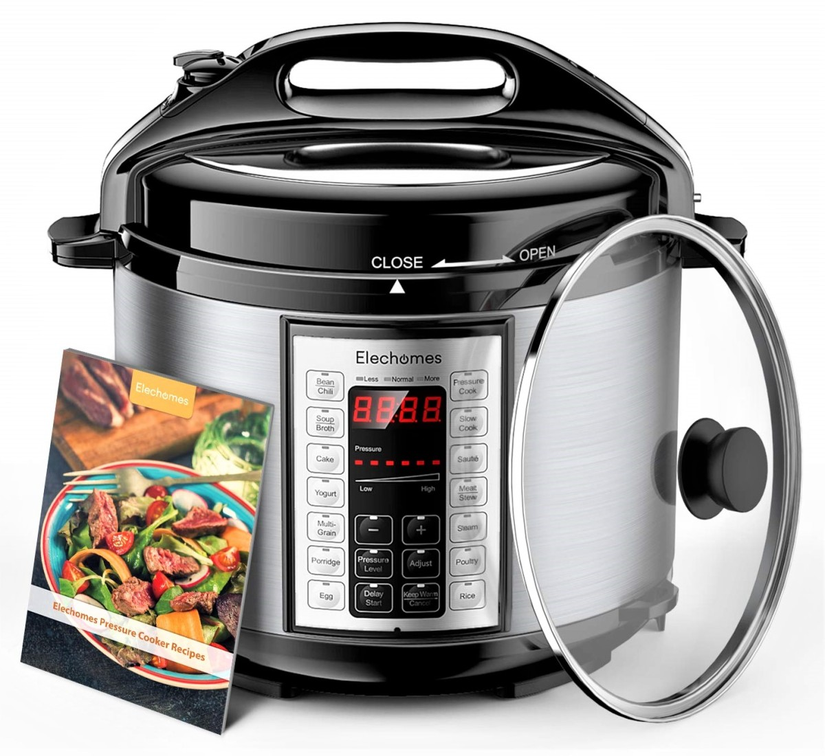 Elechomes 9-in-1 Electric Pressure Cooker