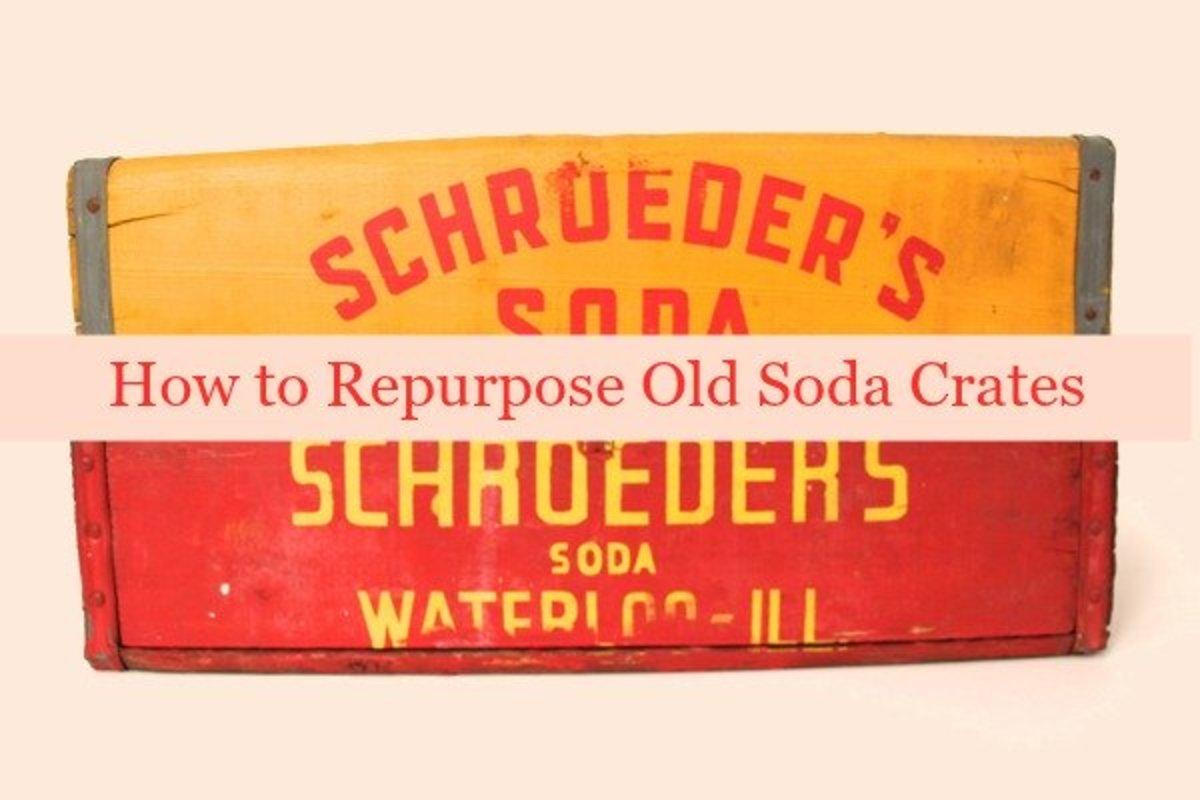 4 Fantastic Ways to Repurpose Old Soda Crates