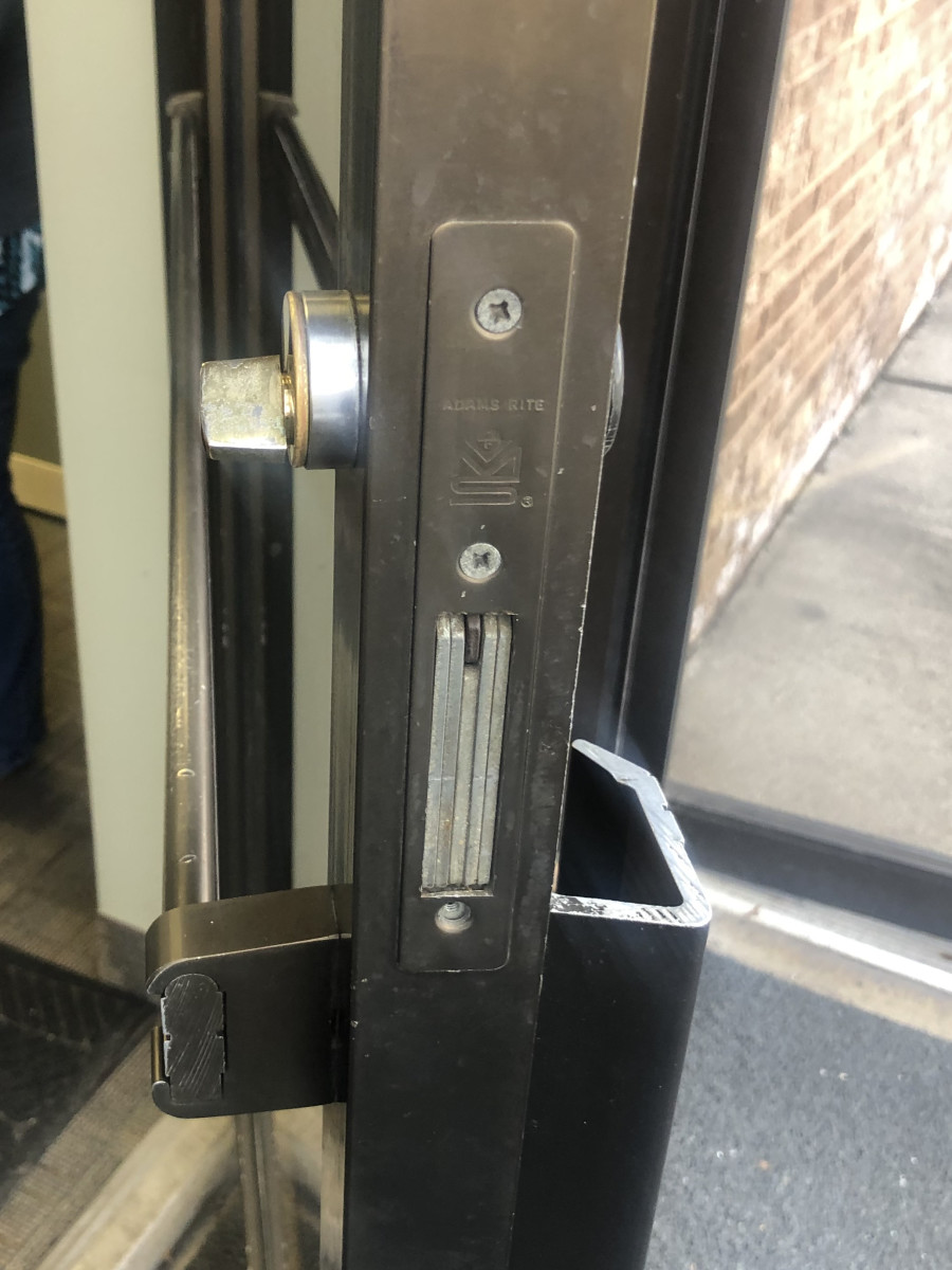 Storefront Windows And Doors a guide to electric locking for narrow stile aluminum