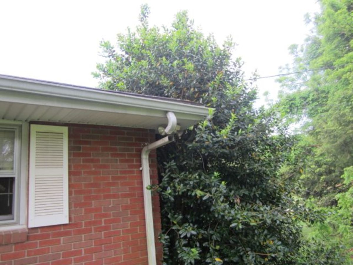 Broken gutters can cause water to enter your foundation.