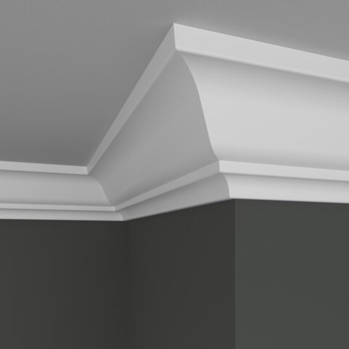 Tips for Painting Crown Molding White