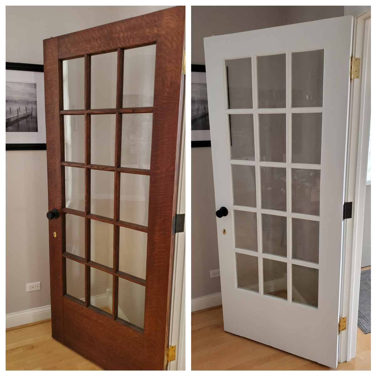 Tips and Tricks for Painting French Doors the Easy Way