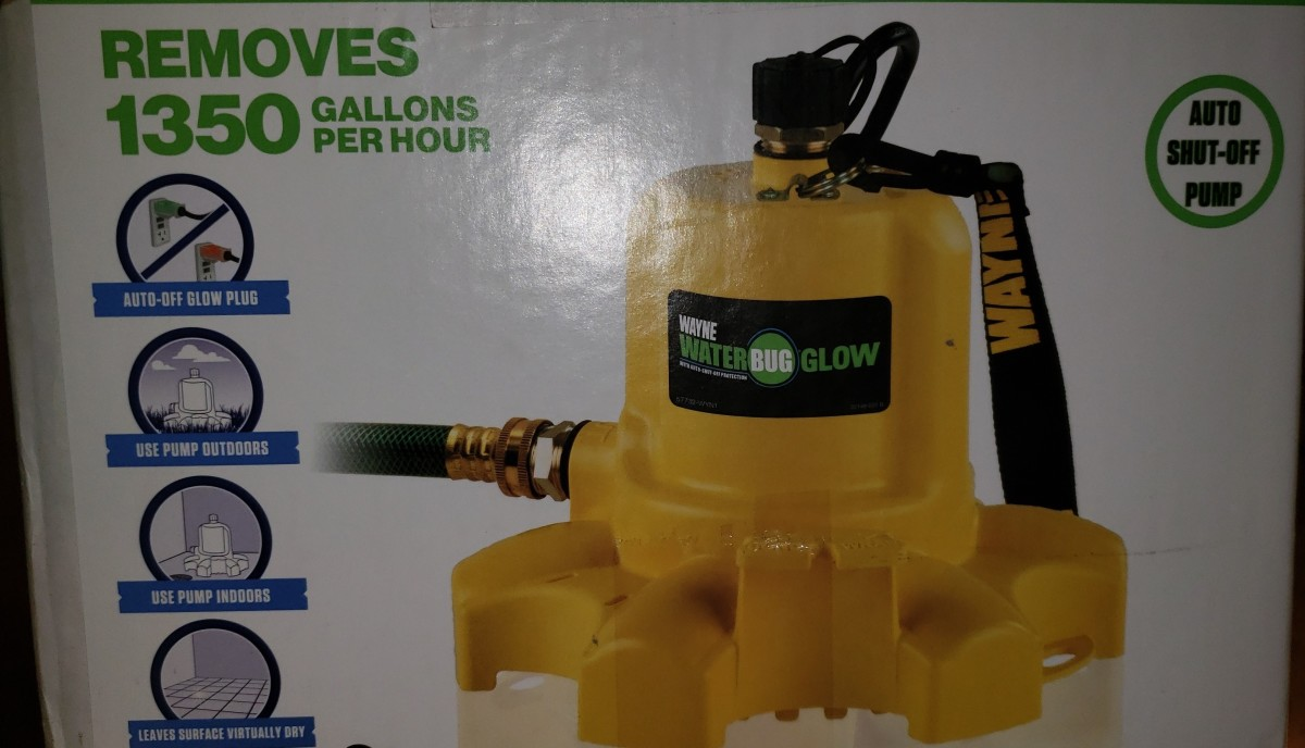 WaterBUG Water Pump Product Review