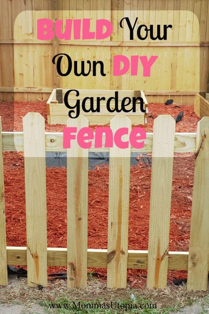Build Your Own DIY Garden Fence
