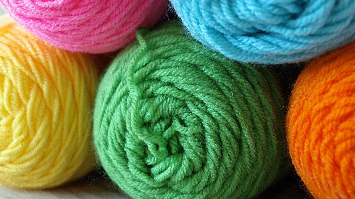 Yarn is good for all kinds of crafts.