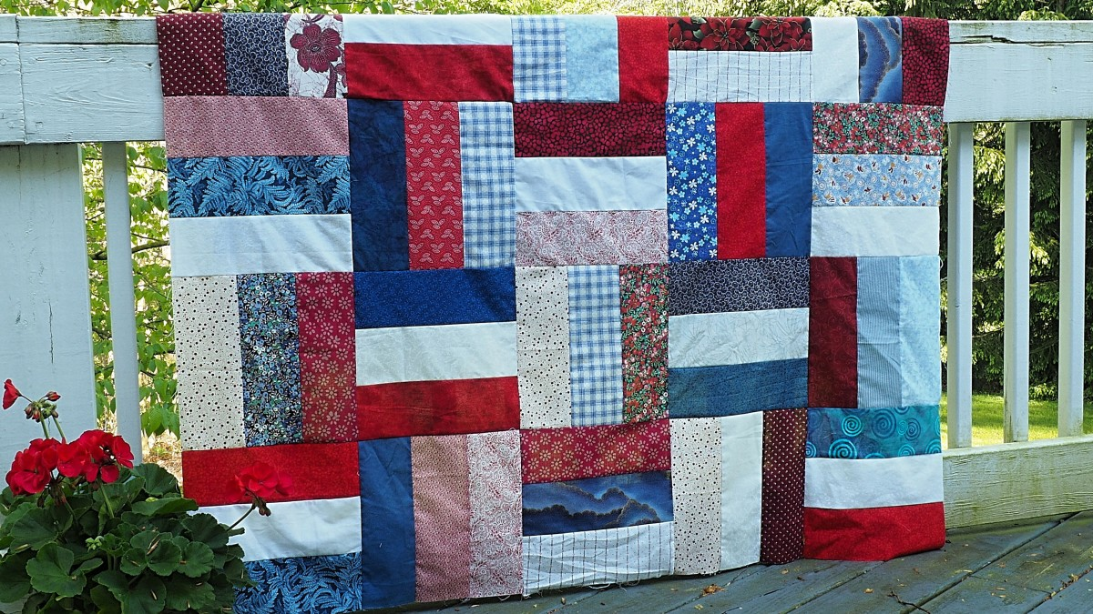 Consider making a quilt.