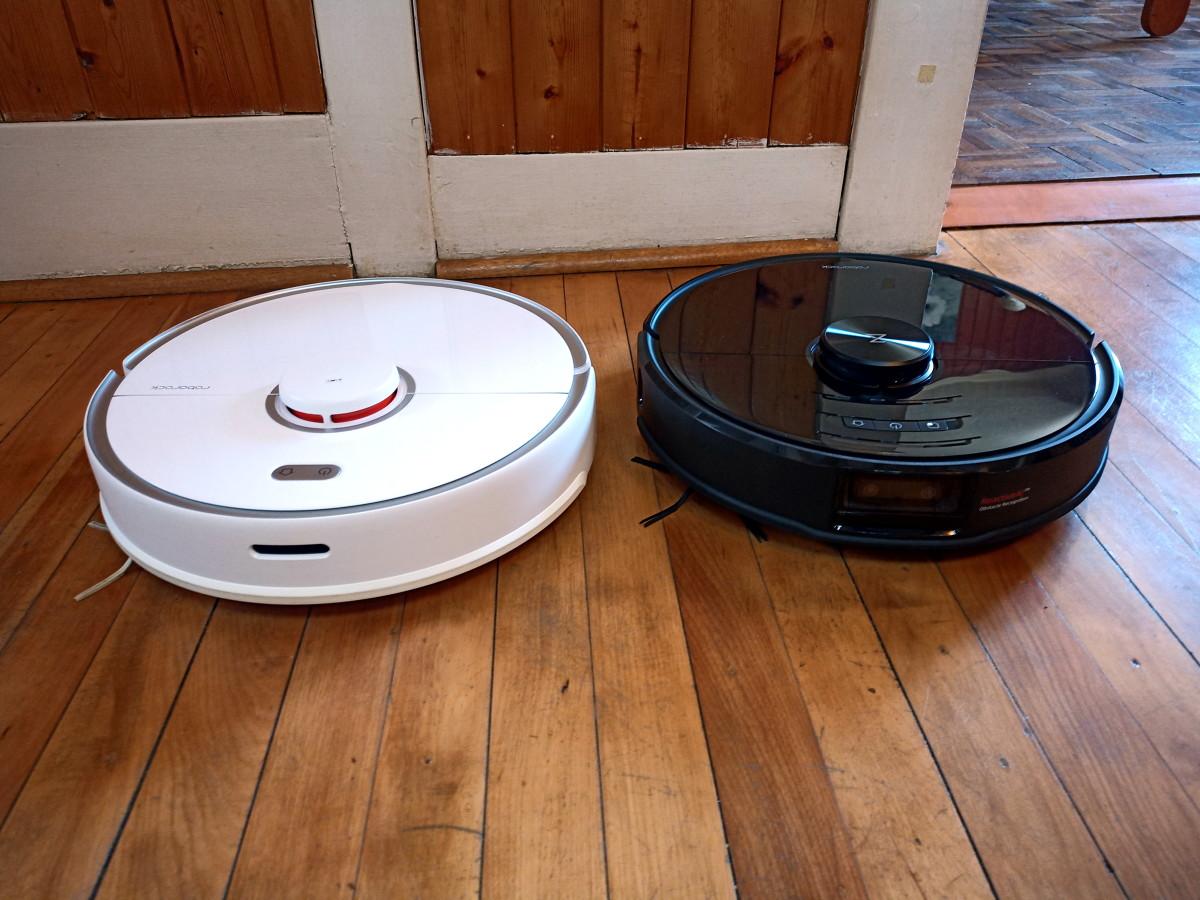 Roborock S5 Max alongside S6 MaxV
