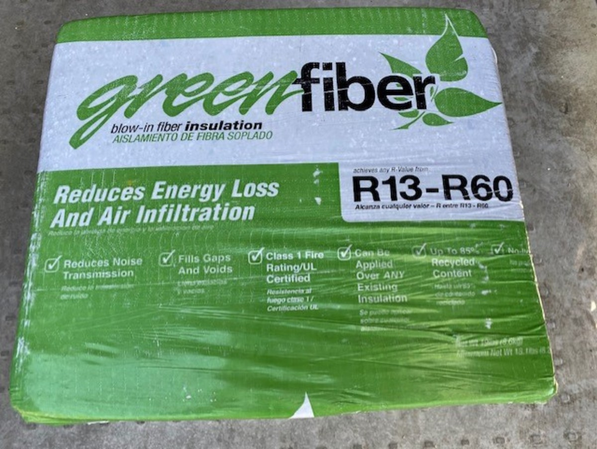This is the brand of loose fill insulation I use.