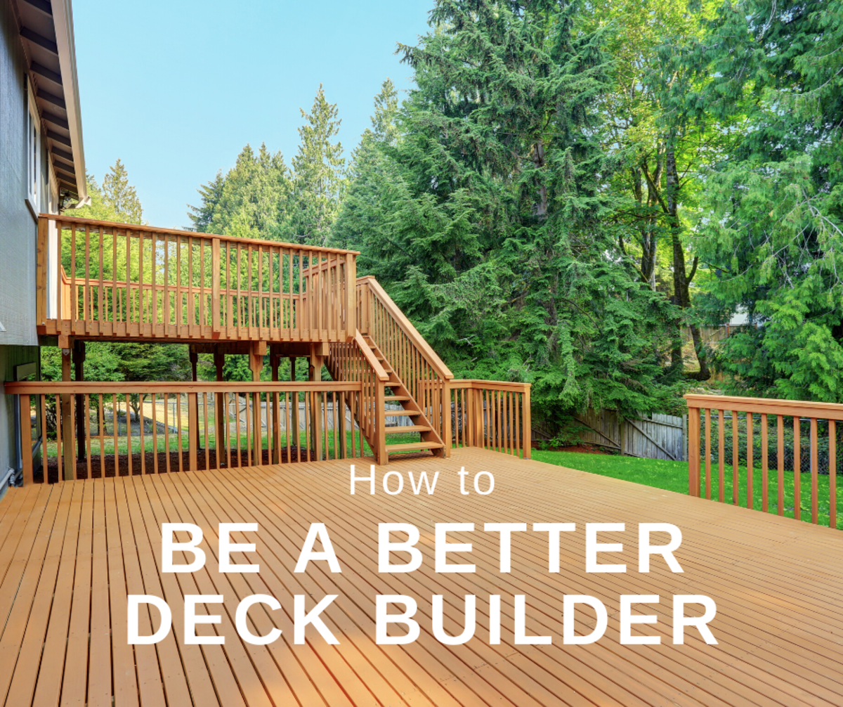 This article will break down how to become a better deck builder, so that you can construct the exact kind of deck you want for your home.