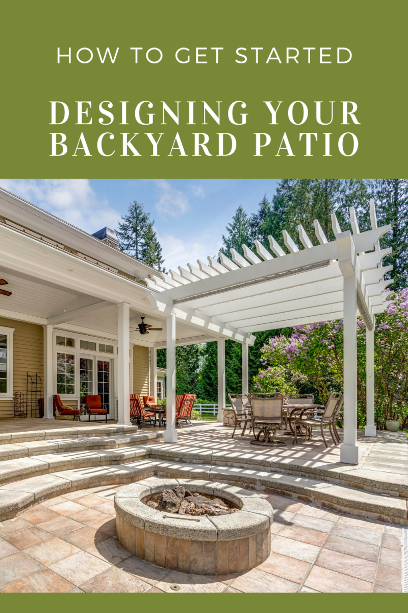 This guide will provide you with all the basic information you need to get started designing your backyard patio.