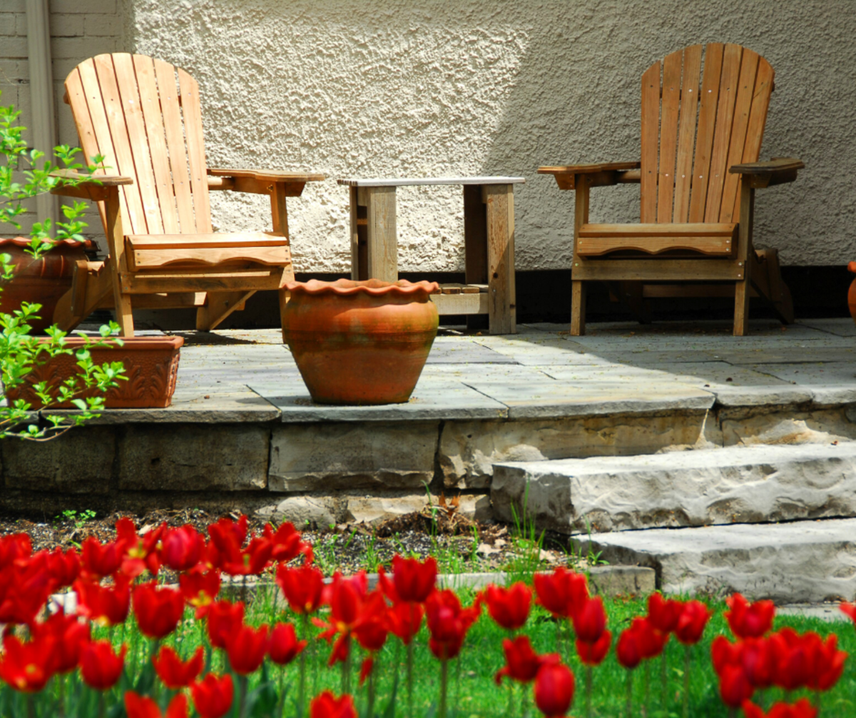 "Since it'll be your space and not someone else's, feel free to plan the exact kind of patio you actually want—not the kind that might be ""expected"" of you or that others think should be the ideal."