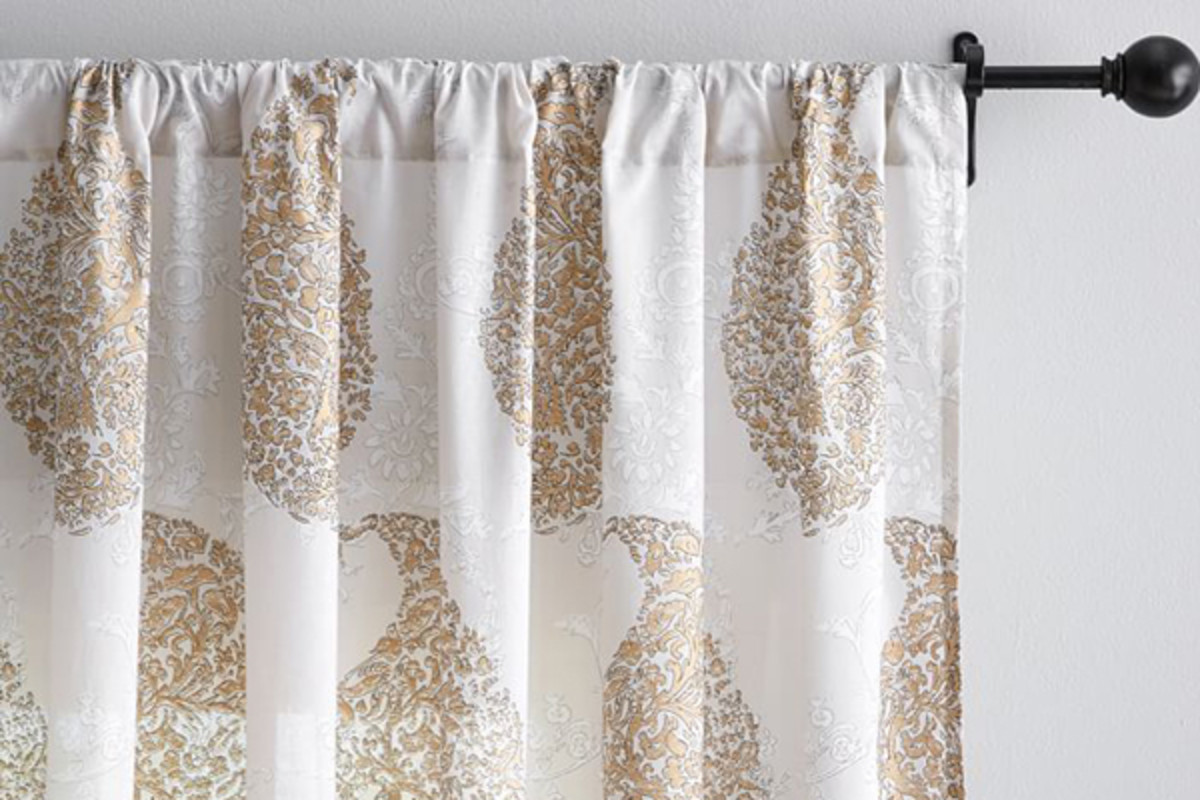 How to Make Fabulous Bed Sheets Out of Curtains