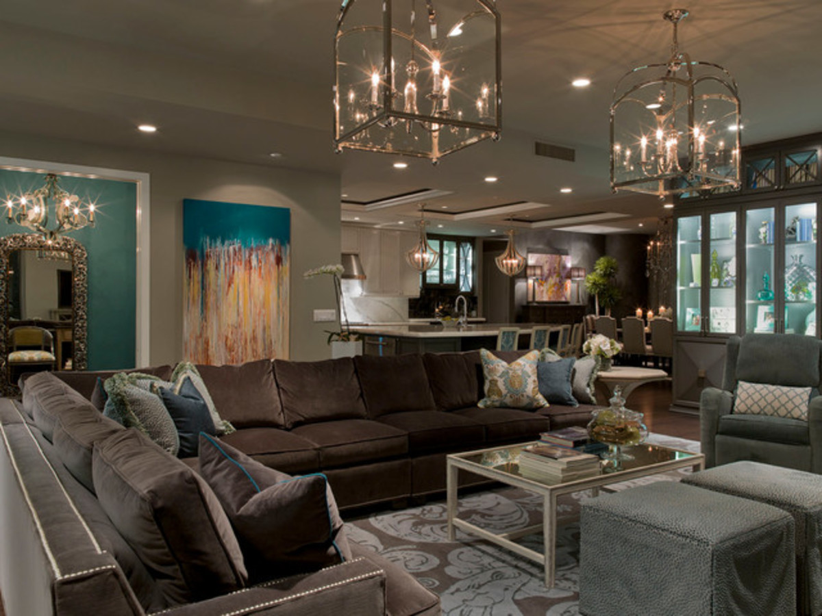 Ambient lighting is an important concept in a space.