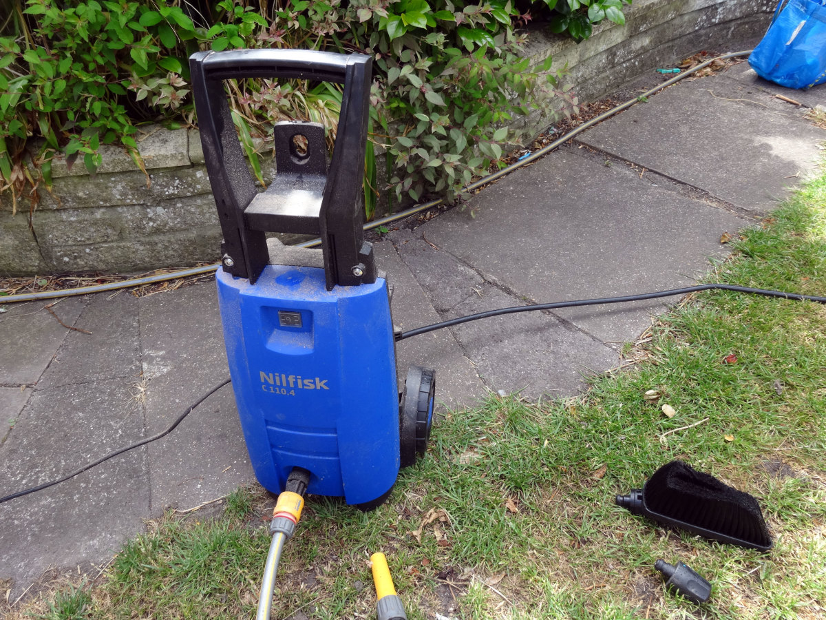 The Nilfisk pressure washer I use.
