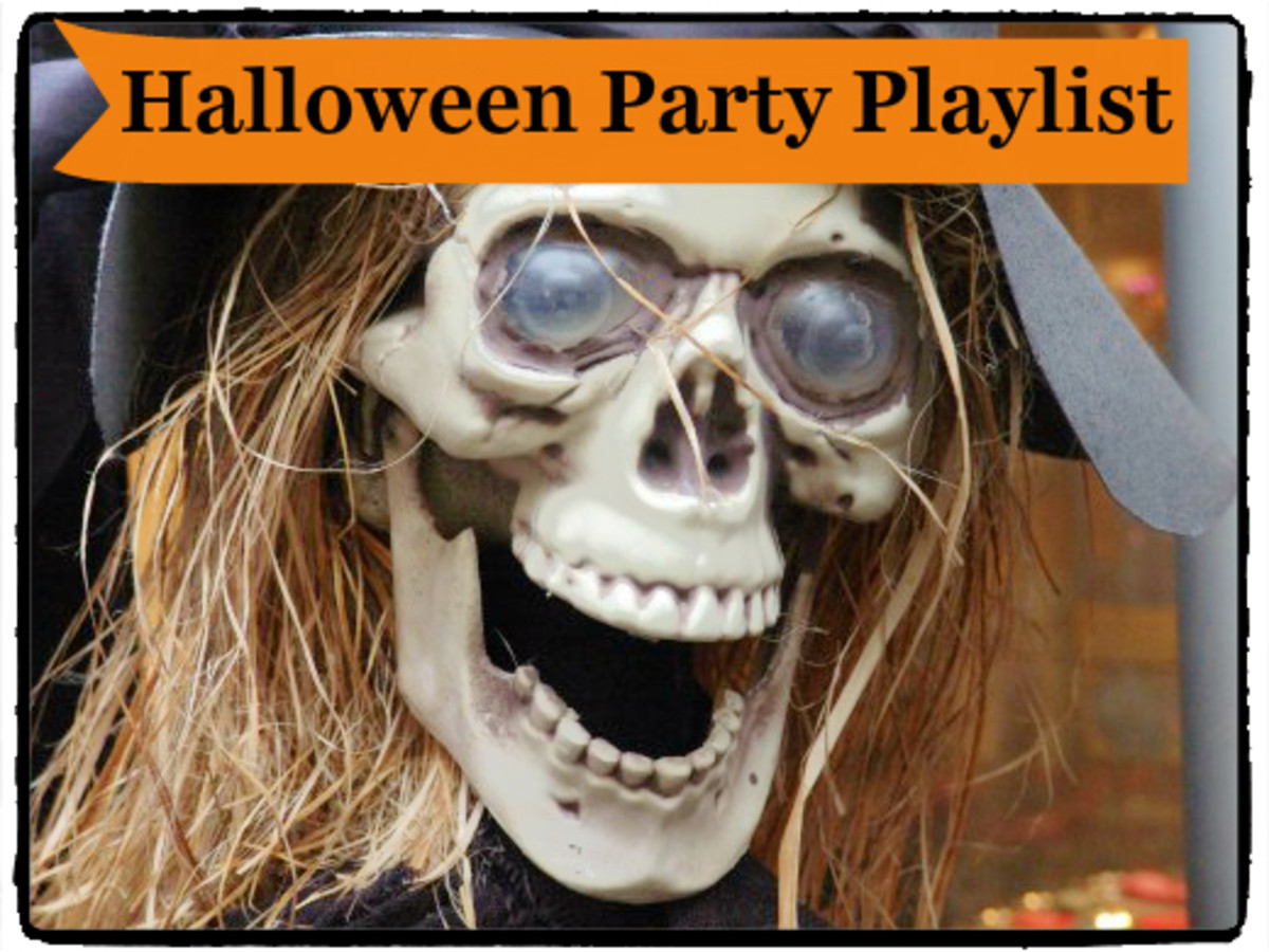 piercing eyes without the lids open the door and scare those kids - Halloween Party Songs For Teenagers