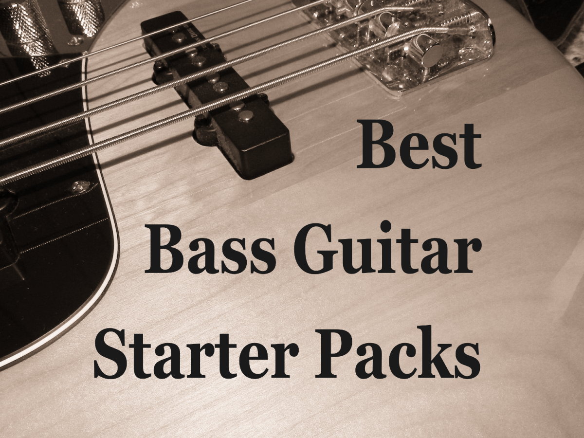 Bass guitar starter packs are an affordable way to get into music.