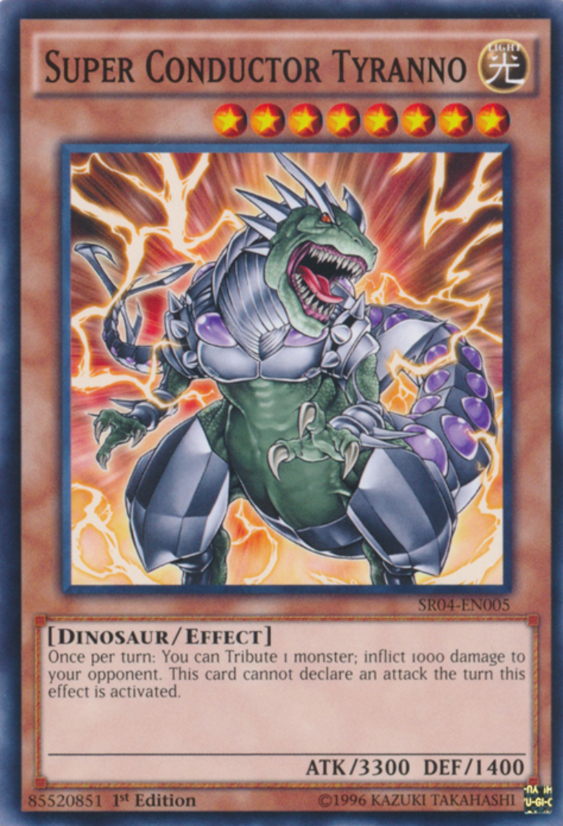 Top 10 Dinosaur Monsters in Yu-Gi-Oh