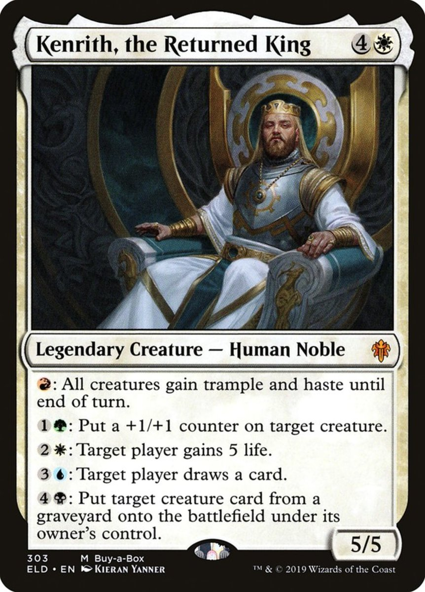 Top 10 Commanders in Magic: The Gathering (2020)