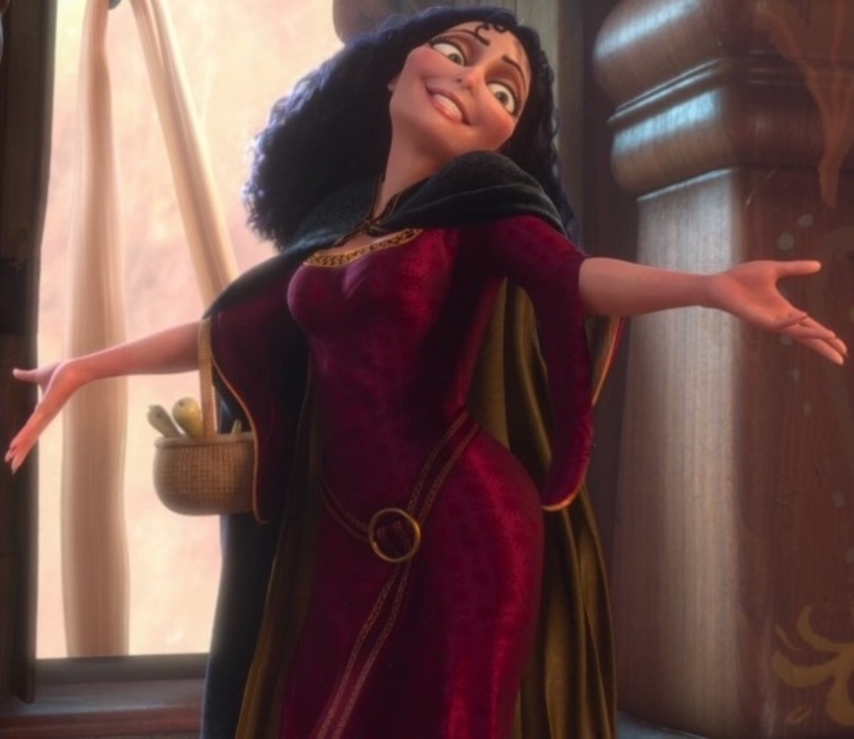 Mother Gothel in Tangled