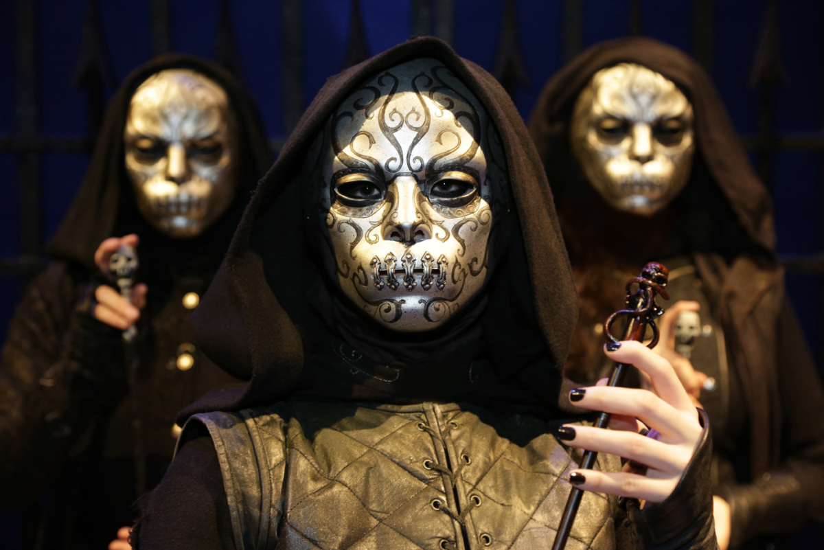 Death Eater costumes in Harry Potter
