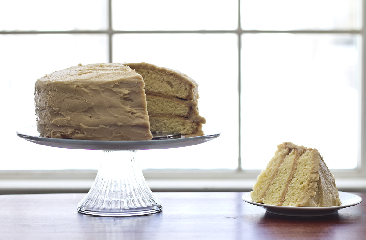 Mama Ruby's Made From Scratch Caramel Cake Recipe