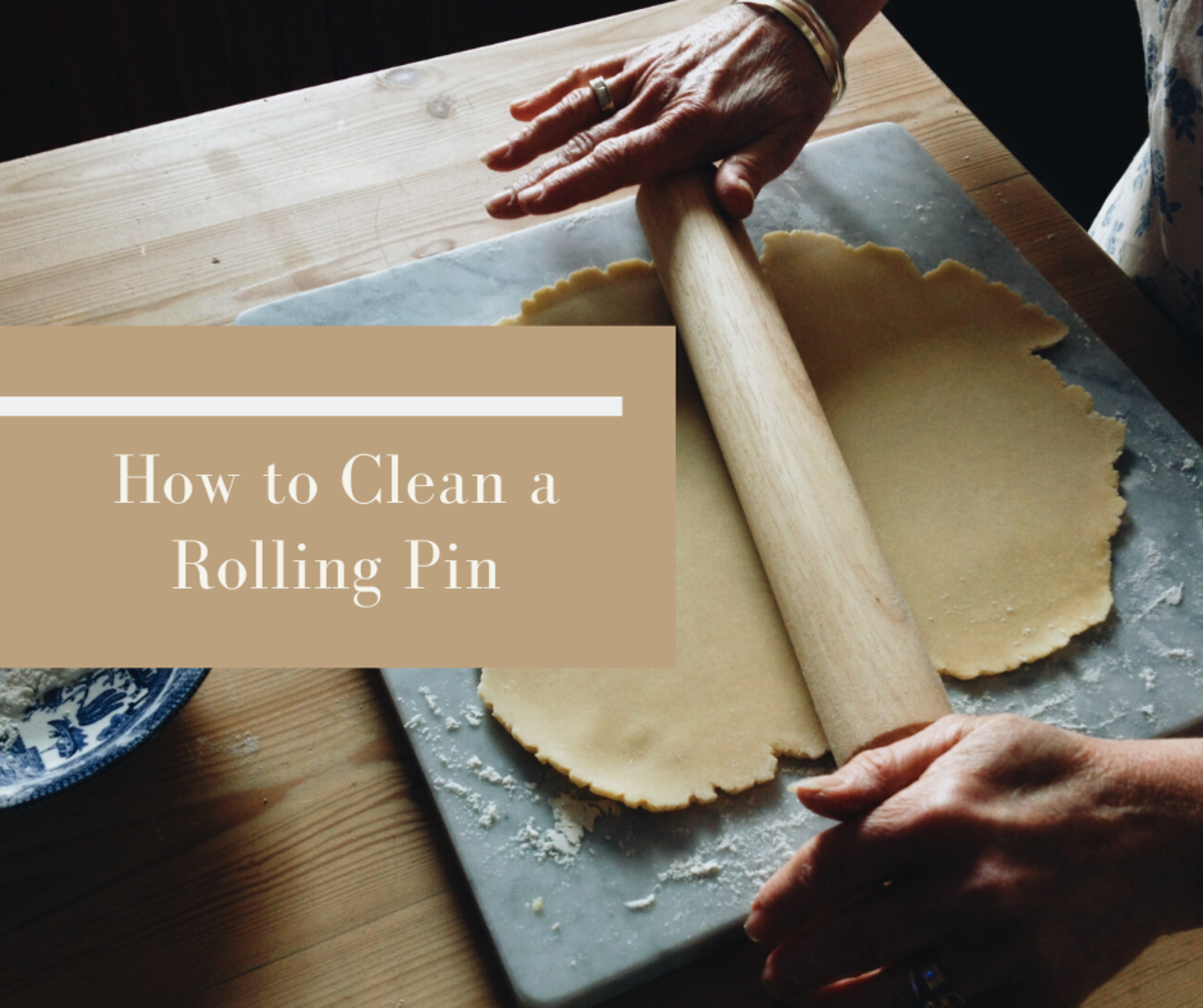 How to Clean a Rolling Pin