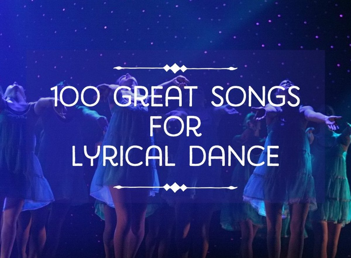 100 of the best songs for a lyrical dance spinditty