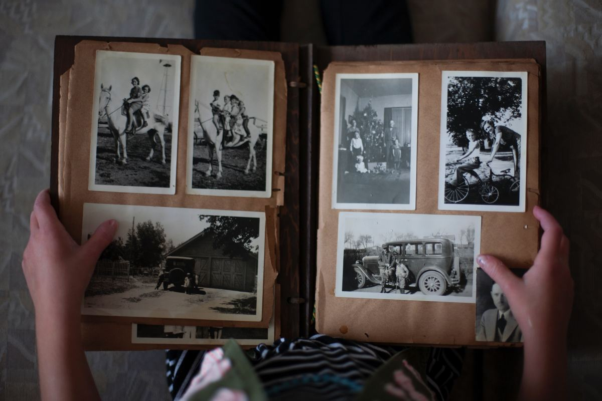 Creating a family photo album is a thoughtful and practical way to keep busy while your stuck in the house.